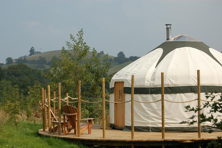 The Secret Yurts Rowan Yurt