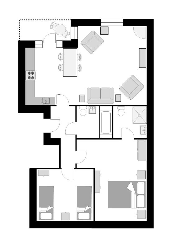 The Manacles floor plan