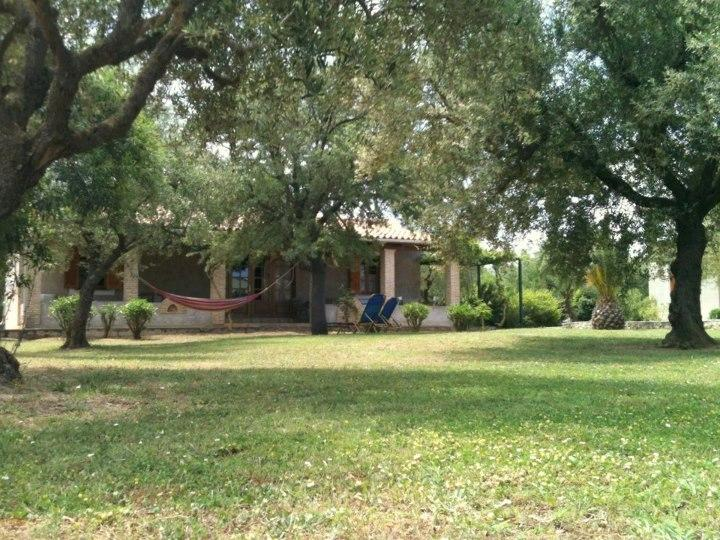 Daphnes villa no.10 with large furnished veranda and safe private and common garden.