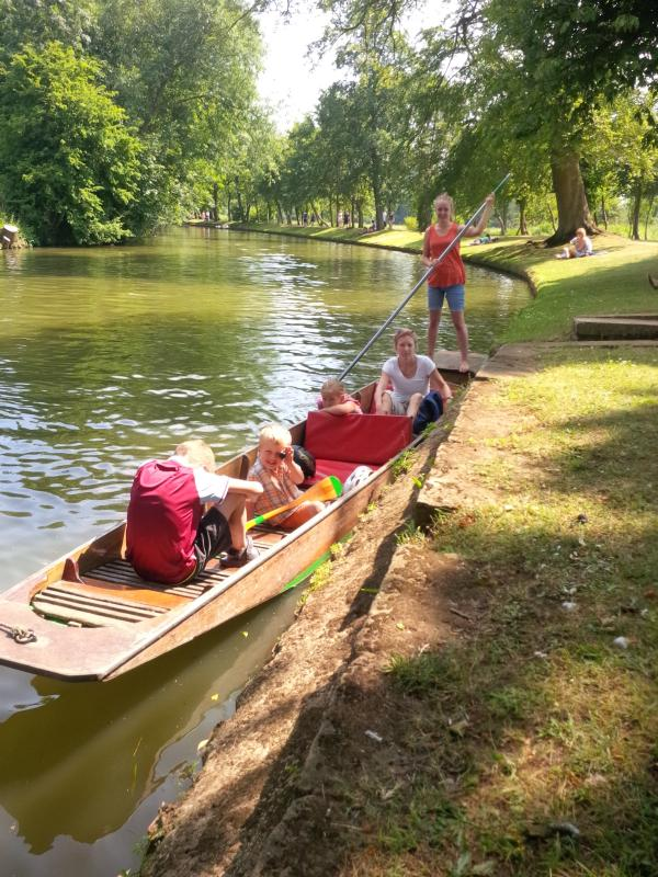 Punting is very popular in Oxford