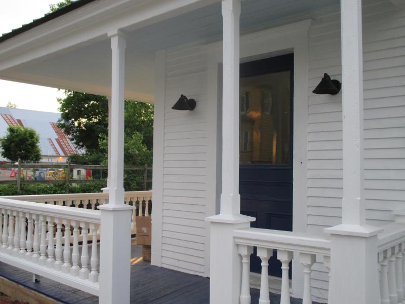 Restored 1880s porch entrance