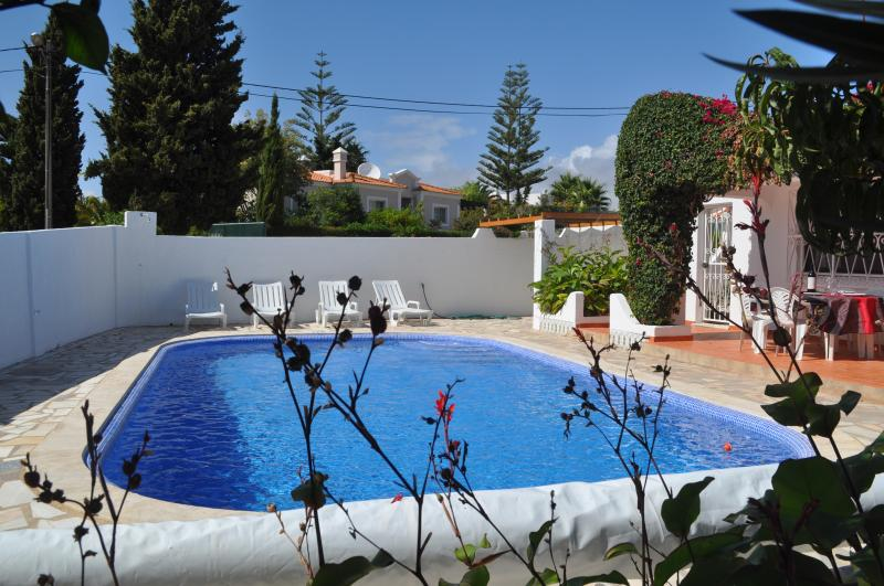 Private brand new pool with optional heating and mood lighting. Walled for security and privacy.