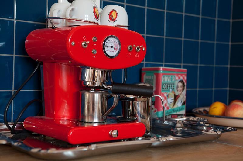 Italian Coffee Maker - in the American Kitchen