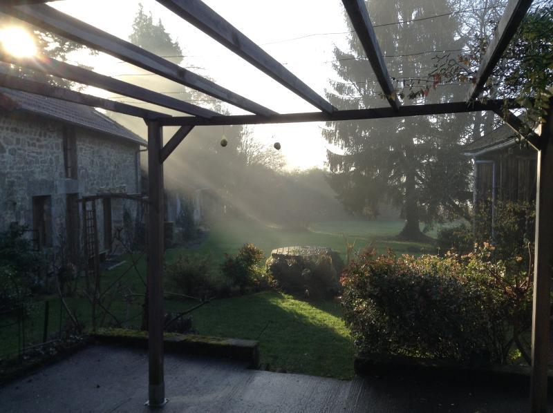 Luz solar de manhã cedo :-)