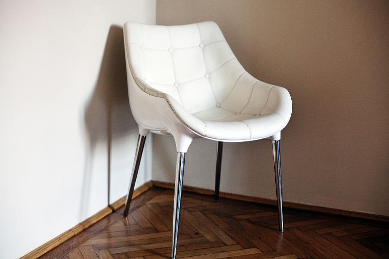 Philipp Starck leather chair