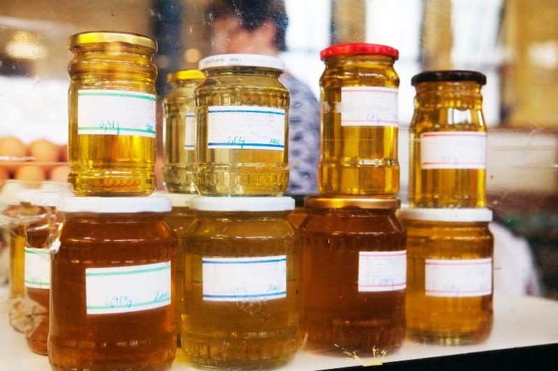 honey from the markt