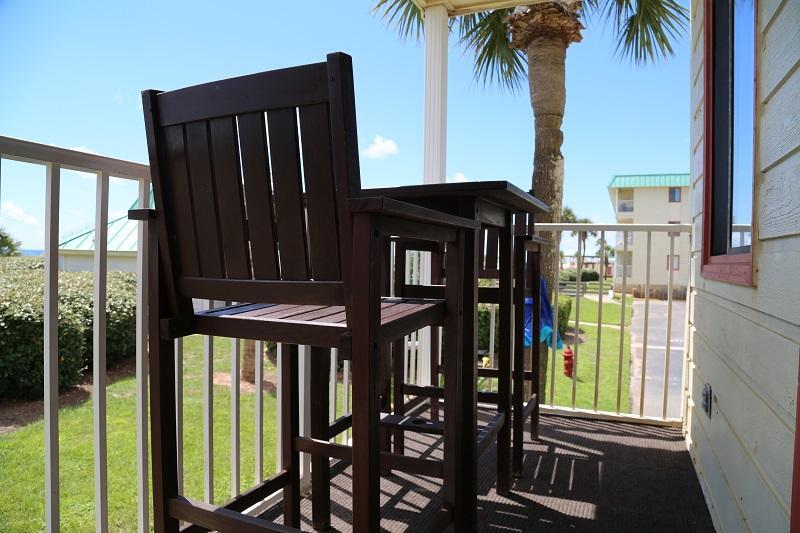 Balkon zitplaatsen