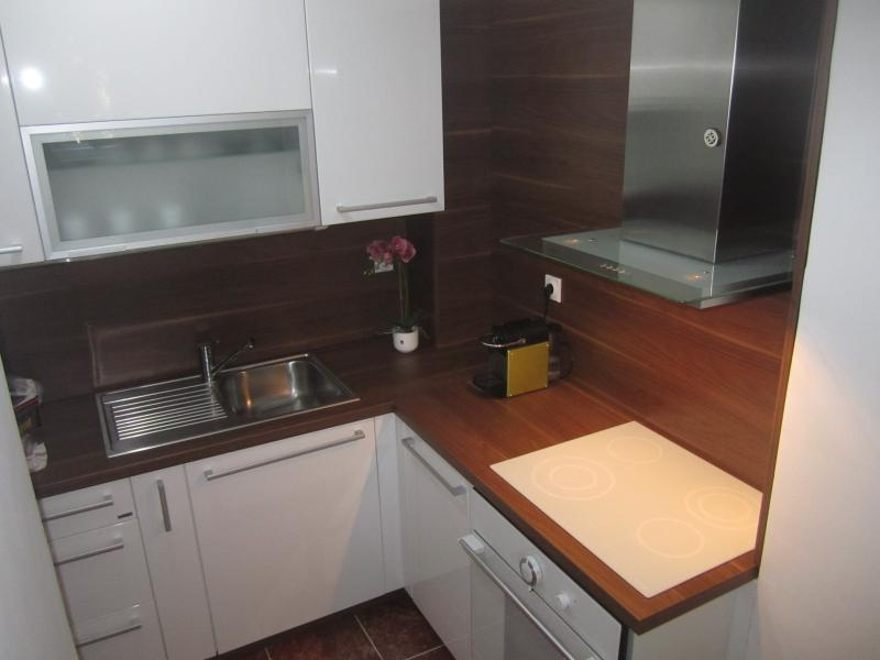 Gorenje kitchen with stovetop and oven.