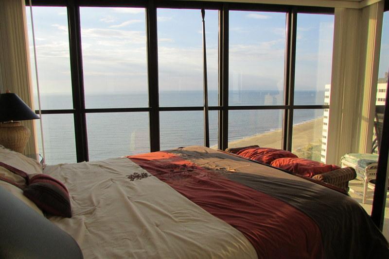 Chambre à coucher principale avec une vue imprenable (Merci AA pour la photo)