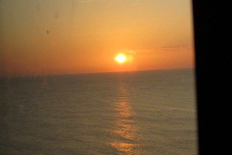 Lever du soleil (Merci AA pour la photo)