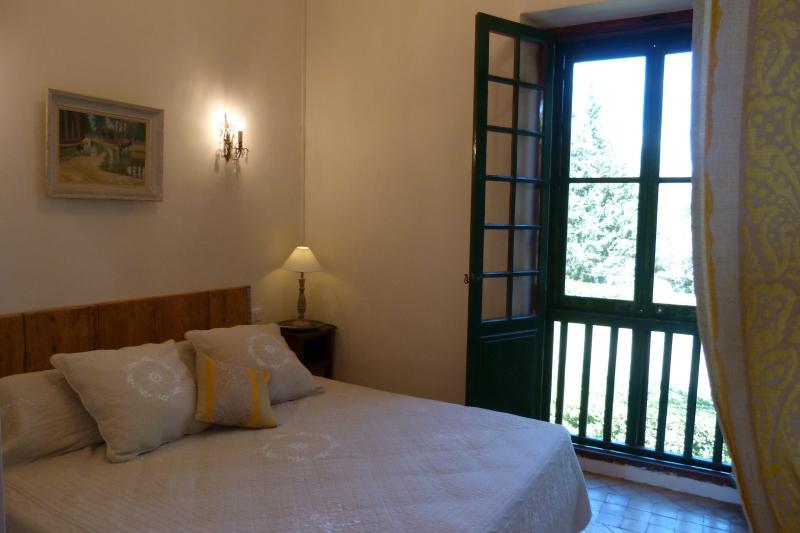Zimmer mit Blick auf den parcAppartement Der Olive