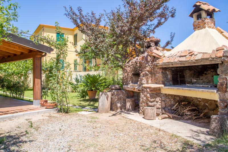 Sardinian style with barbecue grills available
