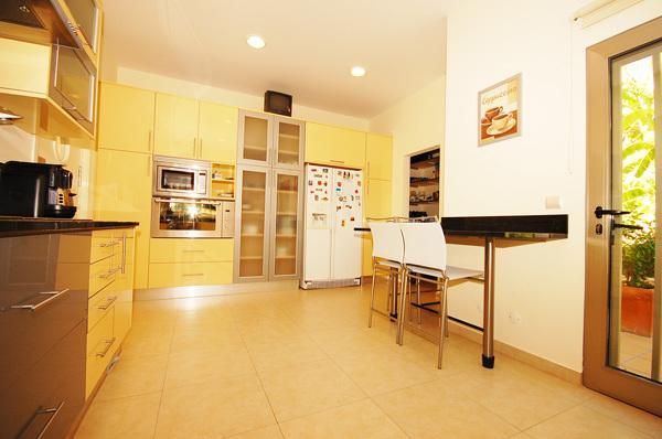 L'un des deux cuisines