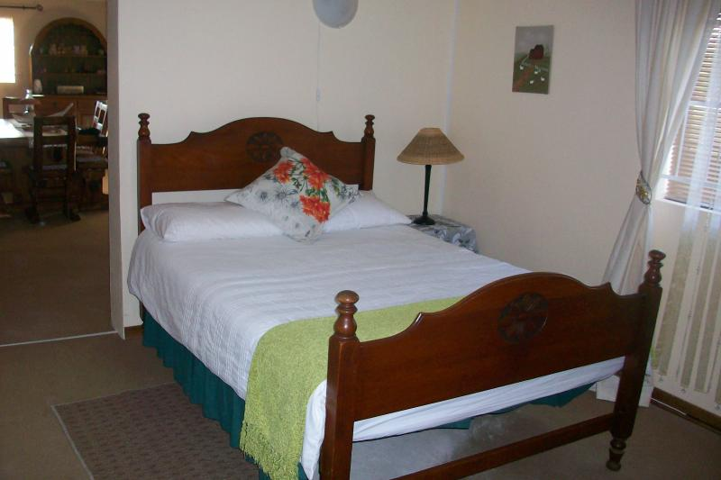 Double bed in 2nd room.