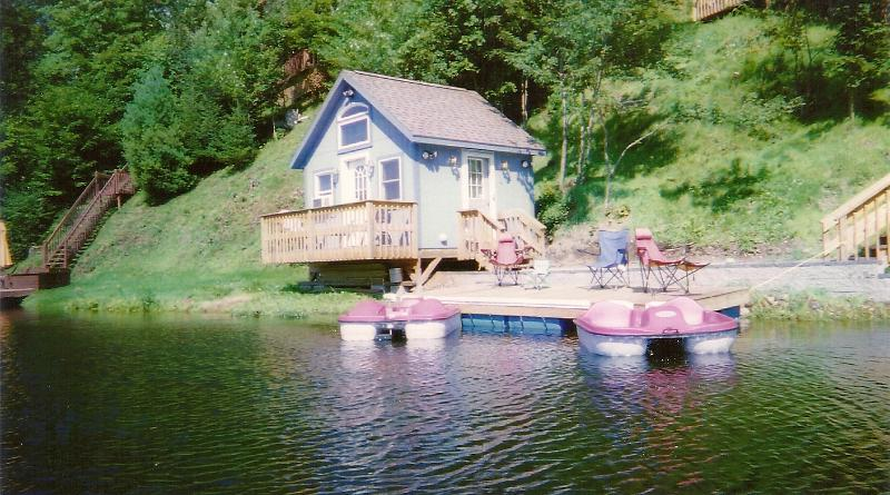Teeny Tiny Cottage on Lake Eden**, vacation rental in Craftsbury
