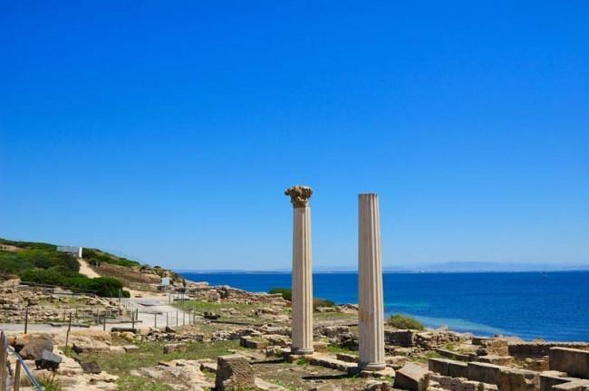 ruins of the ancient town of tharros