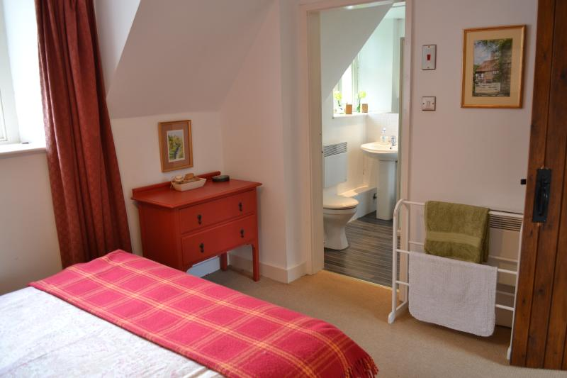 Bedroom 1 with modern en-suite shower room