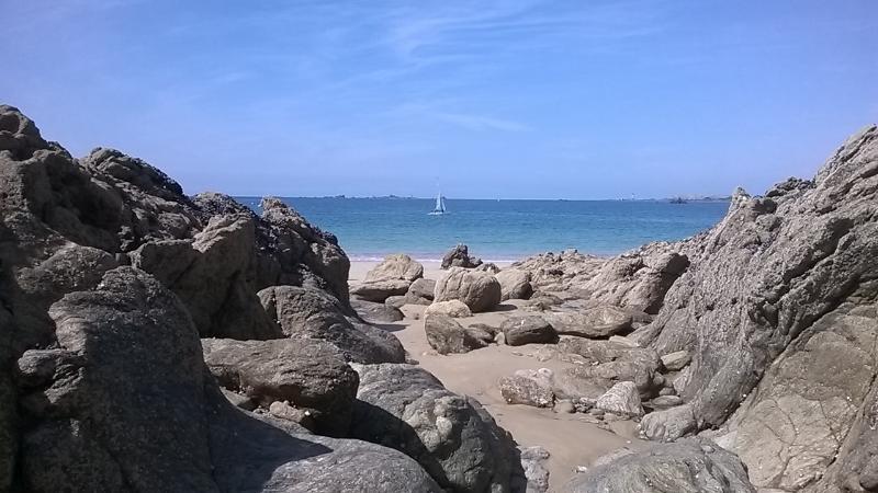 Beach of Saint-Lunaire