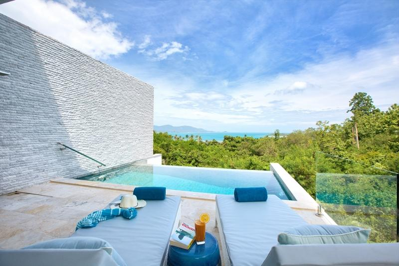 Private Infinity-edge swimming pool - perfect for all