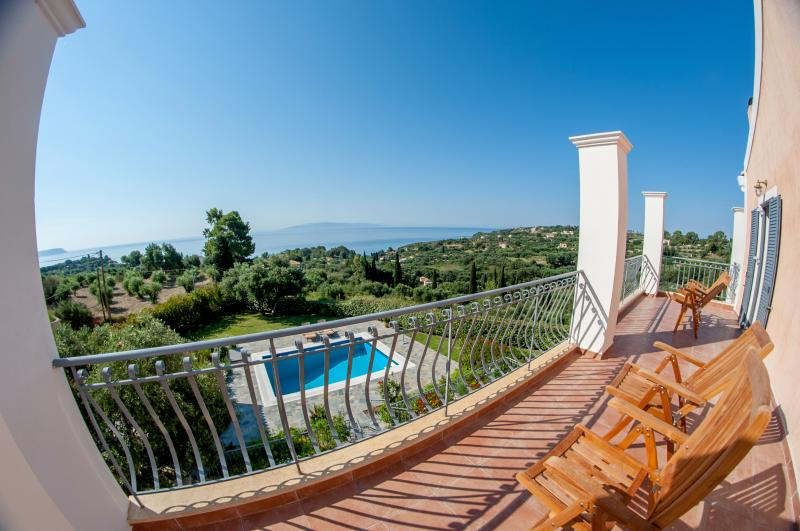 Amazing 180 Degree views of the Sea , Zante and Beyond
