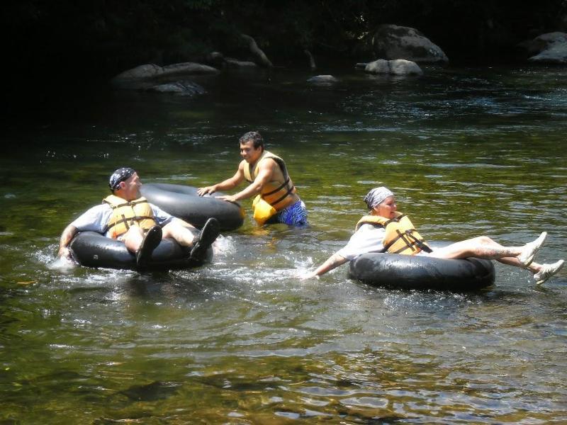 River tubing - great fun!