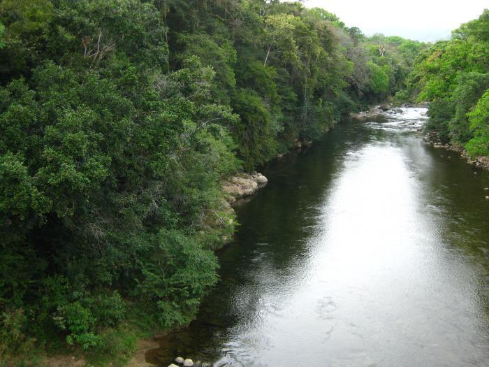 The Santa Maria River - lots of great swim holes