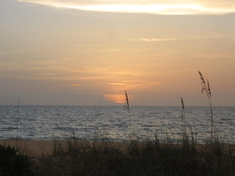 Condo Building View of Beach