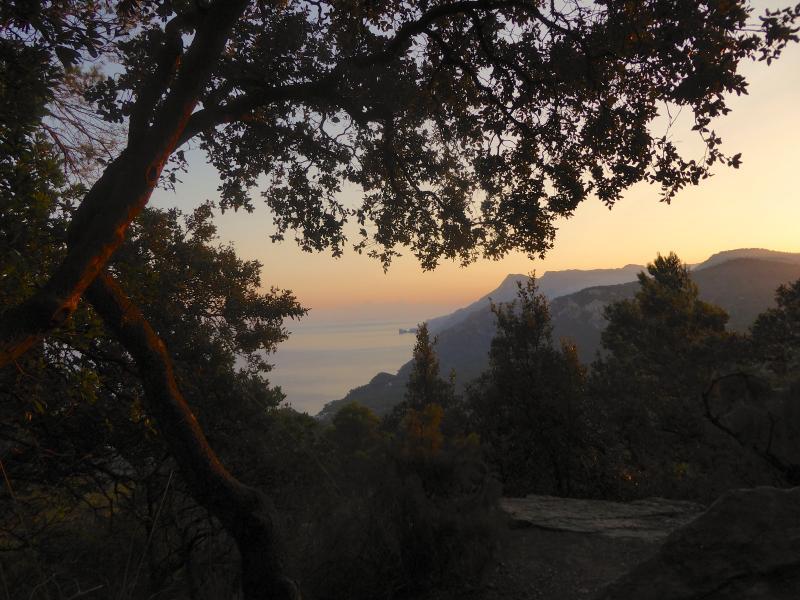 Early morning walk from Banyalbufar to Esporles on the Cami des Correu