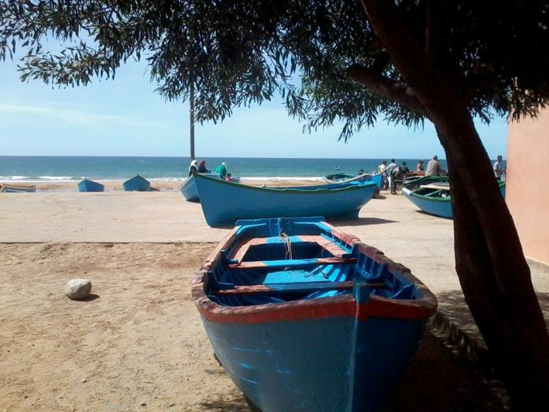 TAGHAZOUT Village de pêcheurs