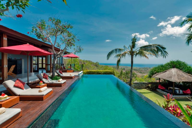 Villa Capung Pool Vista