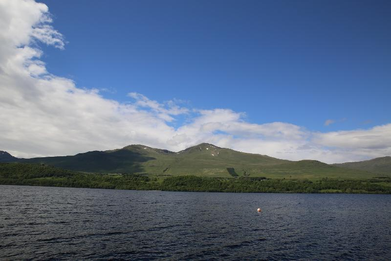 view to Ben Lawers mountain