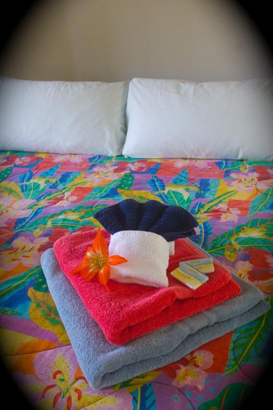 Vackra dyker av färg - Hawaiian style!