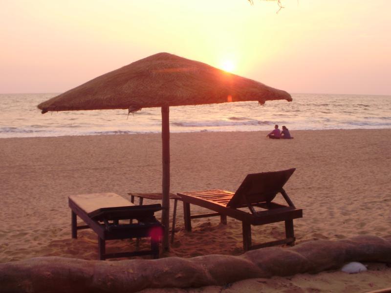 Sunset on Benaulim Beach