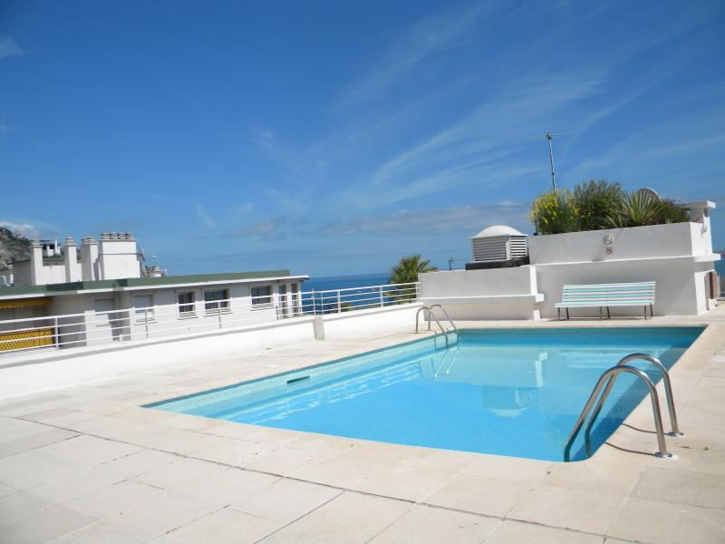 pool at the roof terrace