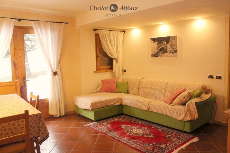 Chalet Alfonz | TERRAZZA: soggiorno  living-room