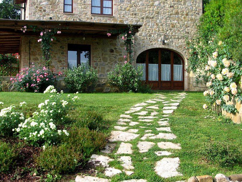 BORGO AL CERRO apt C6 CERTALDO, Ferienwohnung in Casole d'Elsa
