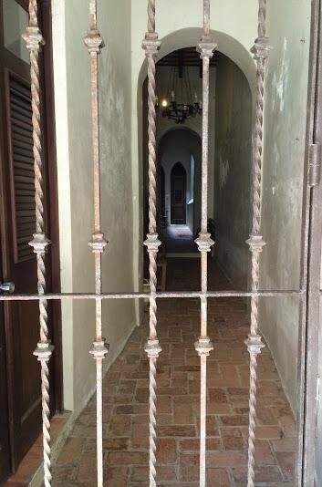 ENTRANCE IRON GATES