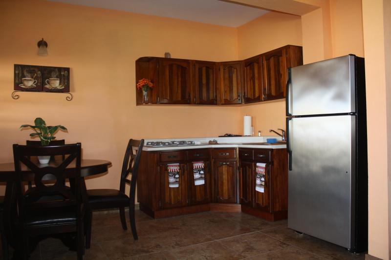 Studio Apartment kitchen/dining room