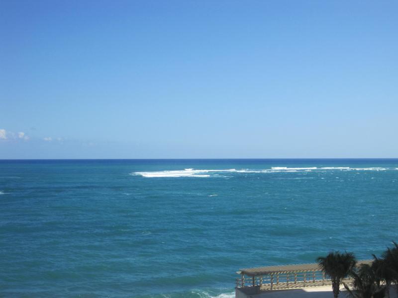 Ocean view taken from balcony.