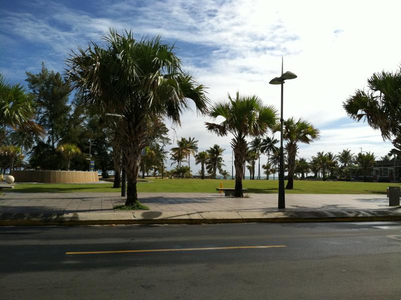 Ventana al Mar park and beach.