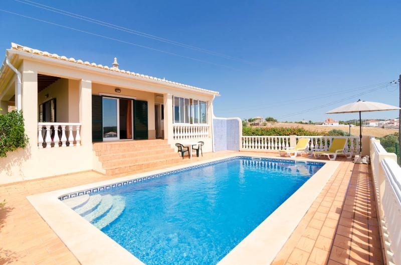 Pool has roman steps, and loungers and parasol provided