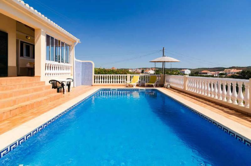 Fabulous gated pool area with panoramic countryside views