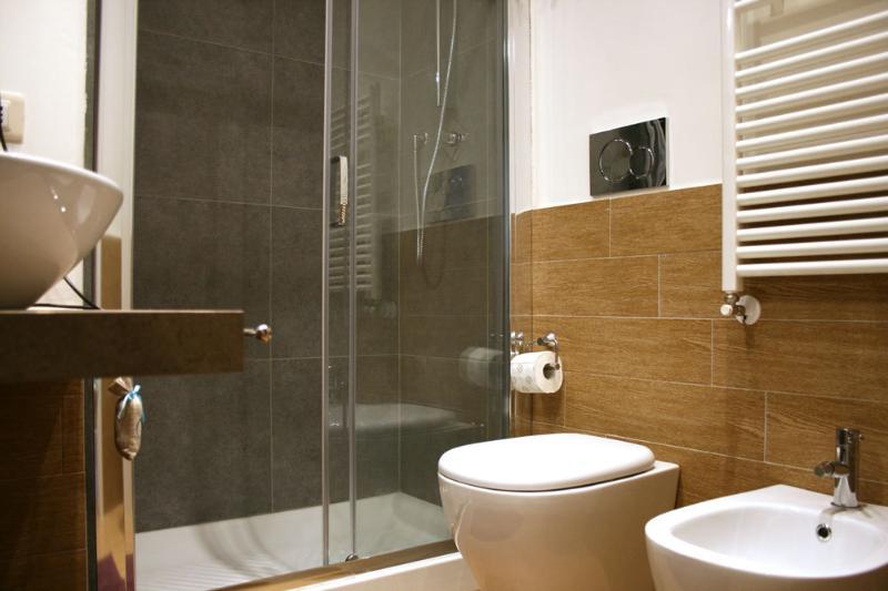 Bagno con doccia comfort