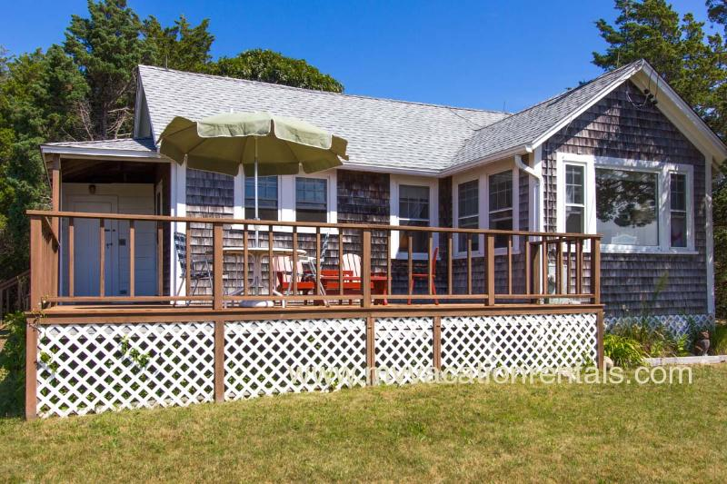 Deck and House with Gorgeous Waterviews