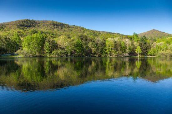 Peaceful setting over Lake