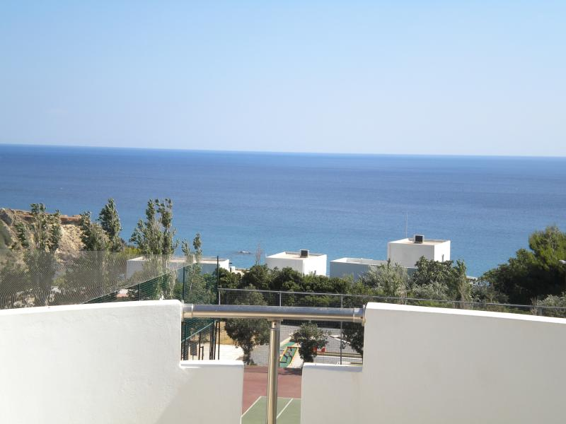 Great sea views from the sunterrace