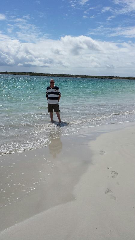 Liam on Gurteen beach Sept. 2014.