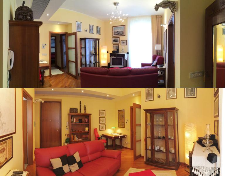 overviews of the Hall, by the front door and out the front door