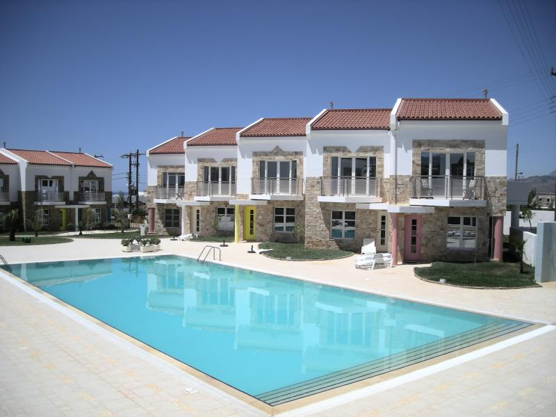 Our villa occupies a central location