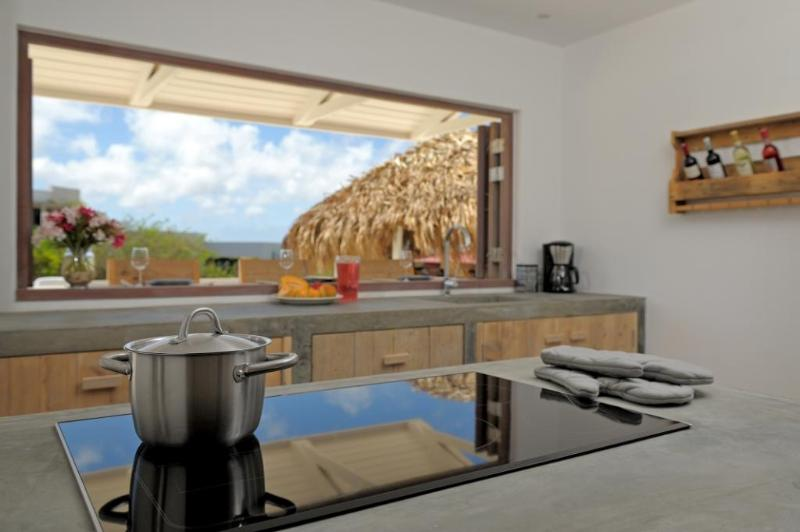 Villa Azure kitchen with upscale appliances